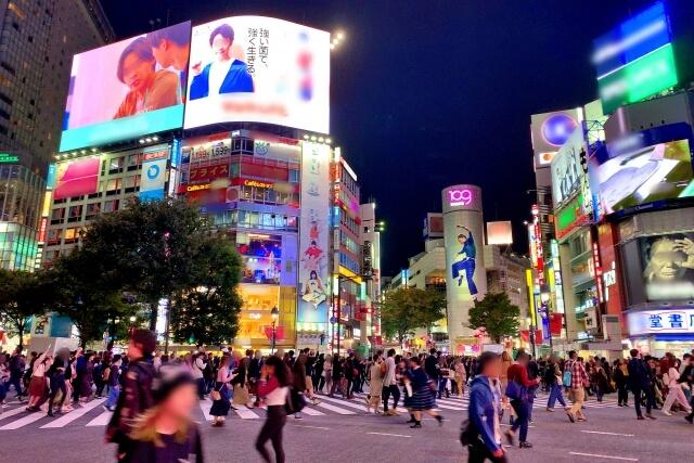 渋谷区 渋谷駅前スクランブル交差点